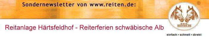 Newsletter reiten.de